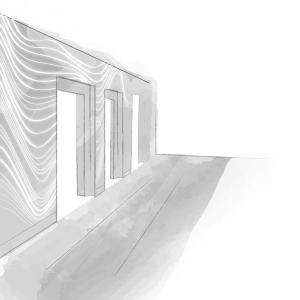 boceto_diseno_paredes_vestibulo_ascensores_oficinas